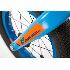 s'cool pedeX 1 blue/orange matt